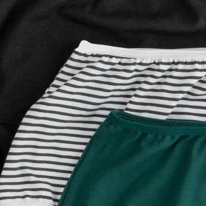 чорні, смужка, зелені